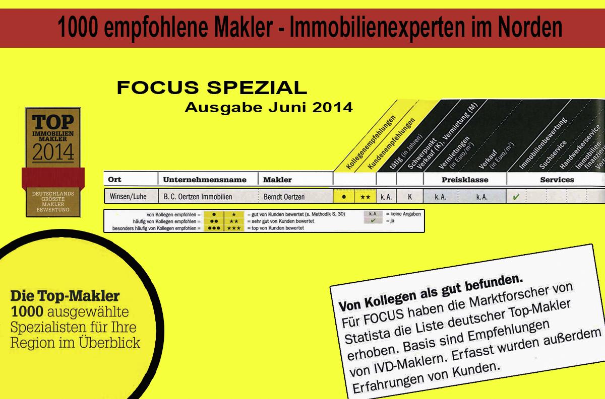 FOCUS Spezial - TOP Makler